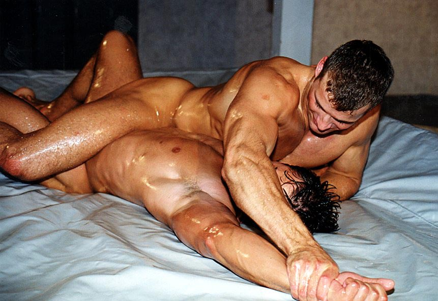 Douglas recommend best of wrestling gay muscle interracial